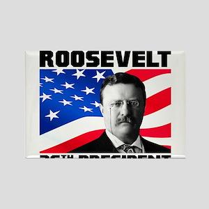 26 Roosevelt Rectangle Magnet