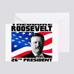 26 Roosevelt Greeting Card