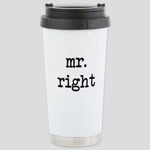 Mr. Right Stainless Steel Travel Mug