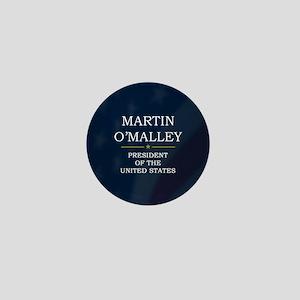 Martin O'Malley for President V3 Mini Button