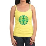 funky peace sign Jr. Spaghetti Tank