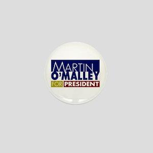 Martin O'Malley for President Mini Button