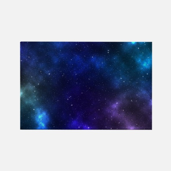 Galaxy Rectangle Magnet