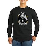 Germyn Family Crest Long Sleeve Dark T-Shirt