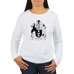 Germyn Family Crest  Women's Long Sleeve T-Shirt