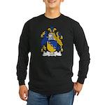 Gell Family Crest Long Sleeve Dark T-Shirt