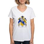 Gell Family Crest Women's V-Neck T-Shirt