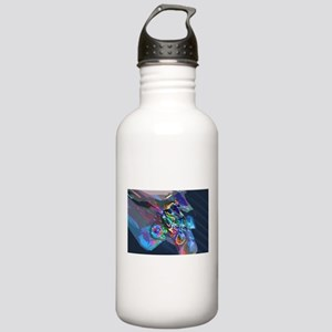 Super Crayon Colored D Stainless Water Bottle 1.0L