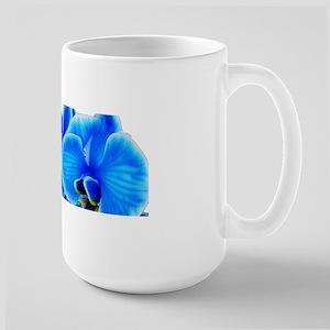 Ice blue orchids Mugs
