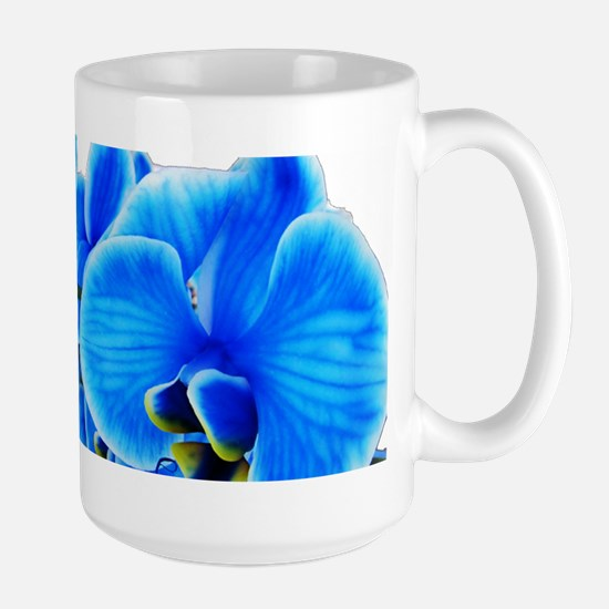 Ice blue orchids Mugs