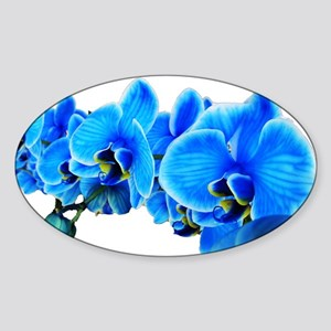 Ice blue orchids Sticker