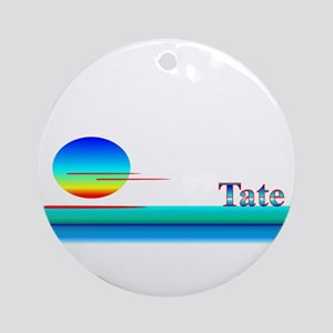 Tate Ornament (Round)