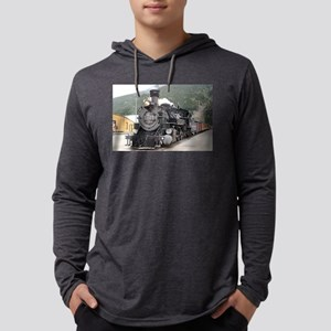Steam train engine Silverton, Long Sleeve T-Shirt