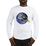 Earth Frog Long Sleeve T-Shirt