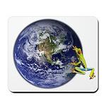 Earth Frog Mousepad