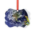 Earth Frog Ornament