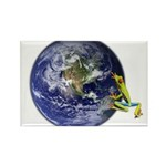 Earth Frog Magnets