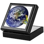 Earth Frog Keepsake Box