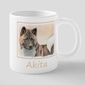 Akita 20 oz Ceramic Mega Mug