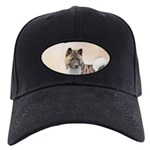 Akita Black Cap with Patch