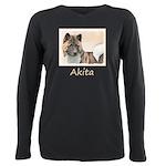 Akita Plus Size Long Sleeve Tee
