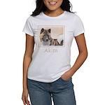 Akita Women's Classic White T-Shirt
