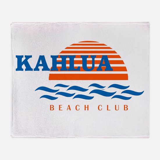 KahuluaLogoArt2co.jpg Throw Blanket