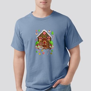 Gingerbread People & House Christmas T-Shirt