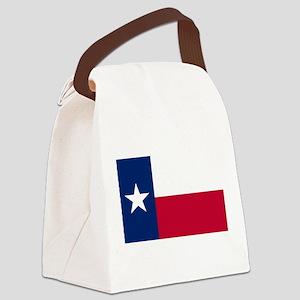 texas-flag Canvas Lunch Bag