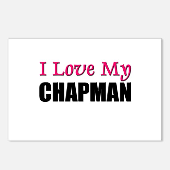 I Love My CHAPMAN Postcards (Package of 8)