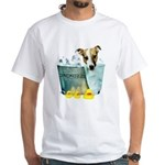 JRT Humor - JACKUZZI White T-Shirt