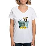 JRT Humor - JACKUZZI Women's V-Neck T-Shirt