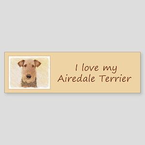 Airedale Terrier Sticker (Bumper)