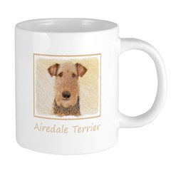 Airedale Terrier 20 oz Ceramic Mega Mug