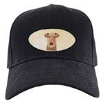 Airedale Terrier Black Cap with Patch