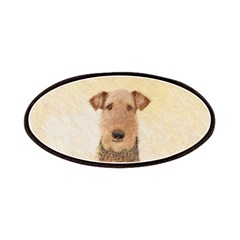 Airedale Terrier Patch