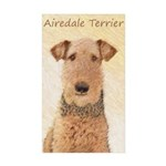 Airedale Terrier Sticker (Rectangle 50 pk)