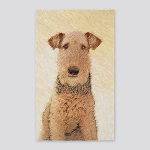 Airedale Terrier Area Rug