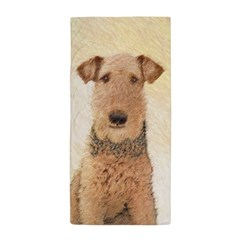 Airedale Terrier Beach Towel