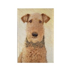 Airedale Terrier Rectangle Magnet (10 pack)