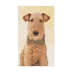 Airedale Terrier Sticker (Rectangle)
