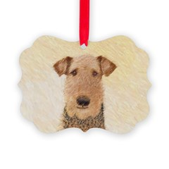 Airedale Terrier Ornament