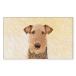 Airedale Terrier Sticker (Rectangle 10 pk)