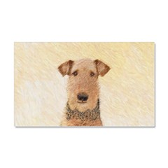 Airedale Terrier Car Magnet 20 x 12