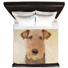 Airedale Terrier King Duvet