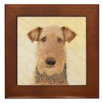 Airedale Terrier Framed Tile