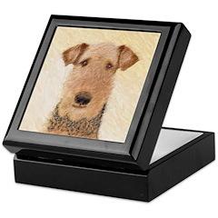 Airedale Terrier Keepsake Box