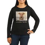 Airedale Terrier Women's Long Sleeve Dark T-Shirt