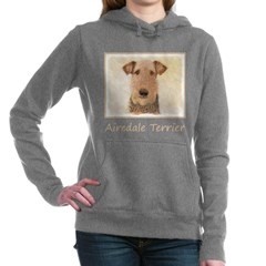 Airedale Terrier Women's Hooded Sweatshirt