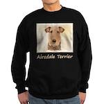 Airedale Terrier Sweatshirt (dark)